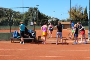 Trainingsbesprechung Mallorca