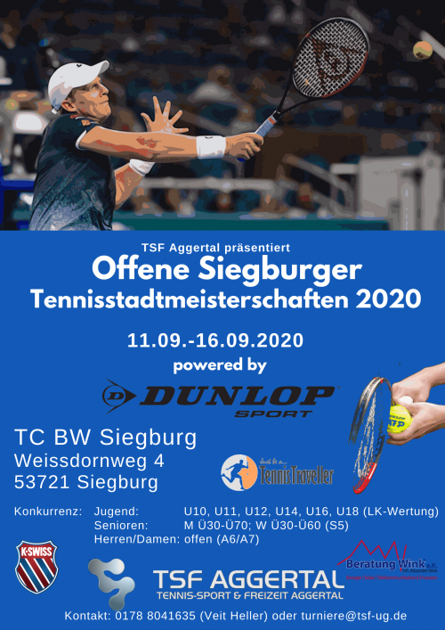 Offene Siegburger Tennisstadtmeisterschaften 2020
